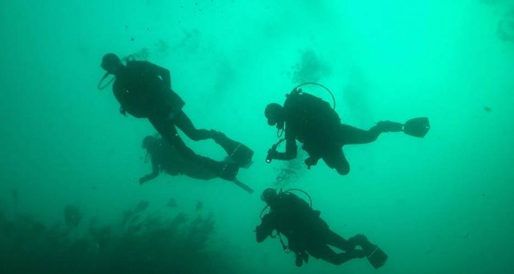 Baustismo de buceo en La Coruña