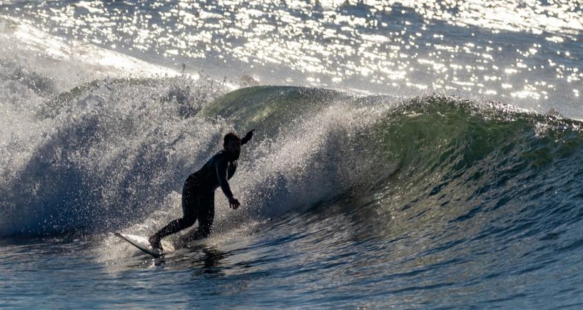 Clase de surf en Rías Baixas