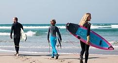 Clases de surf en la Lanzada