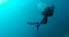 First Dive in La Coruña