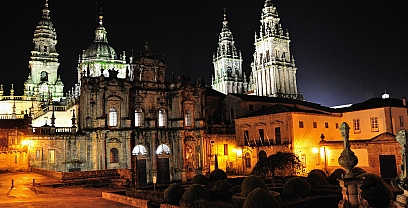 Guided visit until dusk in Santiago de Compostela
