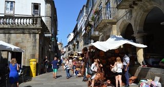 Historia de Santiago de Compostela: Tour guiado