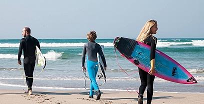 Prado surf clases (Lanzada)