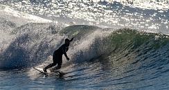 Surf lesson in Rias Baixas