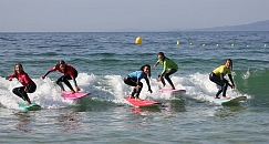 Surf lessons in Vigo
