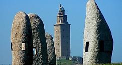 Surroundings Tower of Hercules tour
