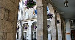 Traslado de Santiago de Compostela a Melide